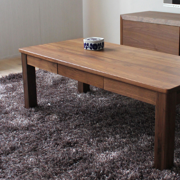 Product Name   CE Coffee Table Table Walnut Brown Color Width 110 Cm X 50  Cm X 40 Cm In Height With Walnut Solid Wood Table Living Center Table  Drawer ...