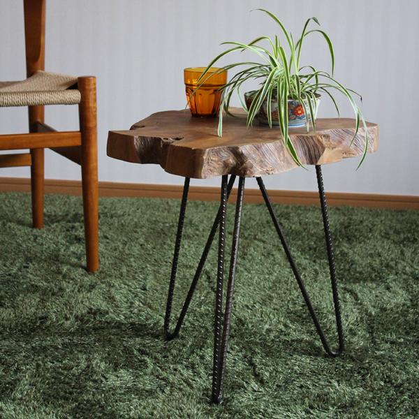商品名| グリーン スタンド C 観葉植物 台サイズ| 幅40 × 奥行40 × 高さ45cm主素材| 無垢材 天然木ナイトテーブル サイドテーブルフラワースタンド 切り株テーブルコーヒーテーブル オフィス