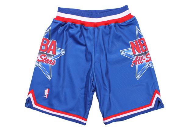 MITCHELL&NESS AUTHENTIC SHORTS(NBA ALL-STAR/1993/BLUE)ミッチェル&ネス/バスケットボールショーツ/エヌビーエーオールスター/ブルー