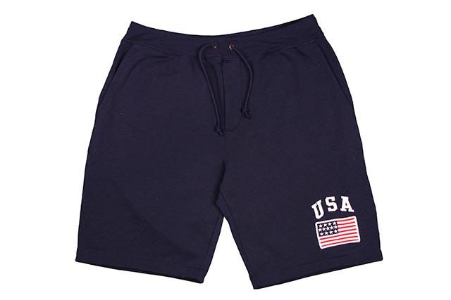 POLO RALPH LAUREN USA FLAG SWEAT SHORTS(NAVY)ポロラルフローレン/スウェットショーツ/ネイビー