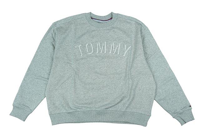TOMMY JEANS CREW SWEAT (DM04463 038:GREY)トミー ジーンズ/クルースウェット/グレイ