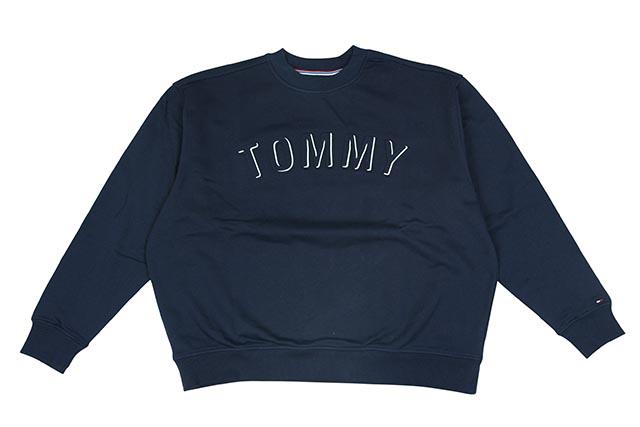 TOMMY JEANS CREW SWEAT (DM04463 002:NAVY)トミー ジーンズ/クルースウェット/グレイ