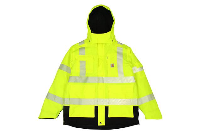 Carhartt HIGH-VISIBILITY CLASS 3 SHERWOOD JACKET (100787/323:BRIGHT LIME)カーハート/シャーウッドジャケット/ブライトライム