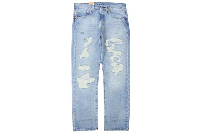 LEVI'S 501 ORIGINAL-FIT STRAIGHT LEG DENIM PANTS(2246)リーバイス/デニムパンツ