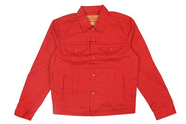 LEVI'S THE TRUCKER DENIM JKT(723340324:RED)リーバイス/デニムジャケット/レッド