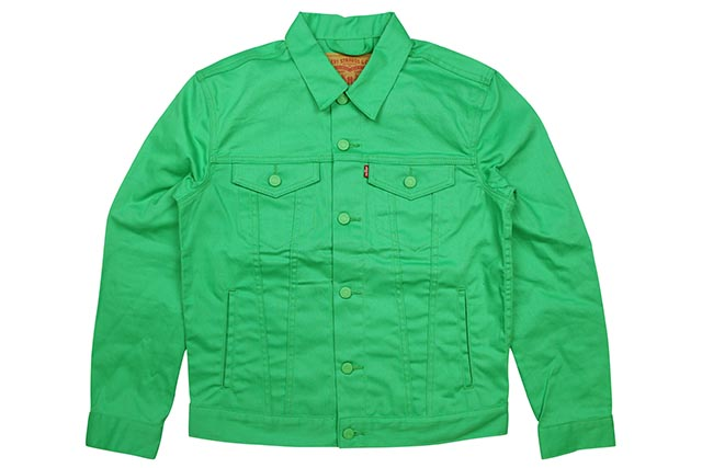 LEVI'S THE TRUCKER DENIM JKT(0325:ISLAND GREEN)リーバイス/デニムジャケット/アイランドグリーン