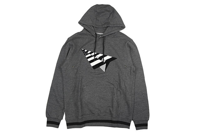 ROC NATION THE ELEVATE PULLOVER HOODIE (CHARCOAL HEATHER)ロックネイション/プルオーバーフーディー/チャコールヘザー