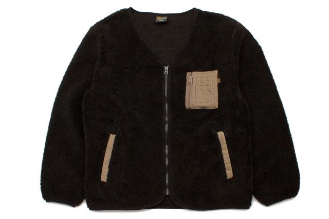 ALPHA ZIP BOA LINER JKT(TC1300-0001:BLACK)アルファ/ライナージャケット/ブラック