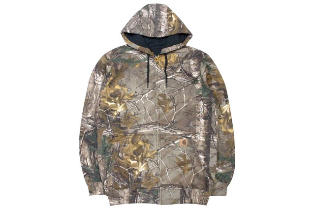 Carhartt MIDWEIGHT REALTREE XTRA CAMO HOODED ZIP SWEAT(K289:977)カーハート/ジップフーディー