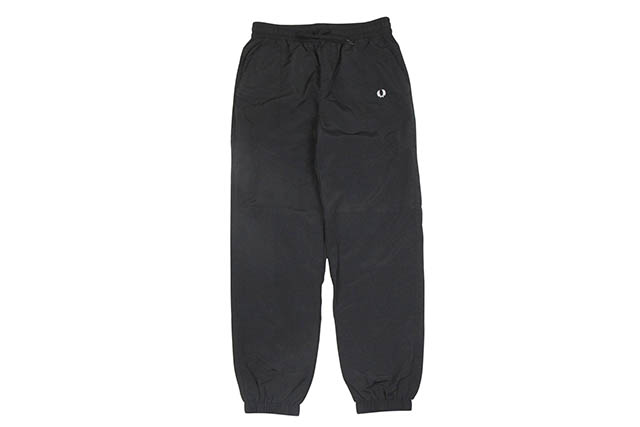 FRED PERRY MONOCHROME SHELL SUIT TROUSER (T4505/102:BLACK)フレッドペリー/シェルスーツ/ブラック