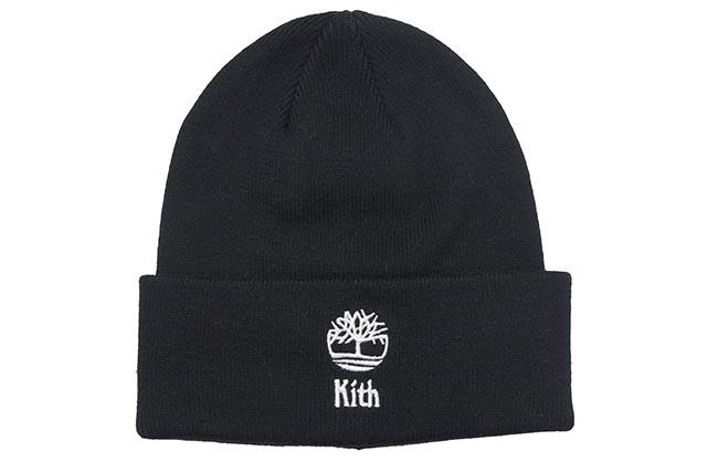 KITH NYC×TIMBERLAND KITH FINE GAUGE BEANIE(BLACK)キスニューヨーク/ティンバーランド/ビーニー/ブラック