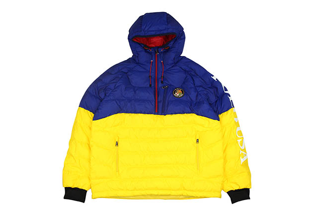 POLO RALPH LAUREN DOWNHILL SKIER COOKIE LOGO DOWN JKT(710718706001:BLUE)ポロラルフローレン/ダウンジャケット/ブルー