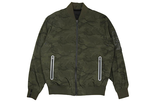 ROC NATION MIDWAY FLIGHT JACKET (GREEN CAMO)ロックネイション/フライトジャケット/グリーンカモ