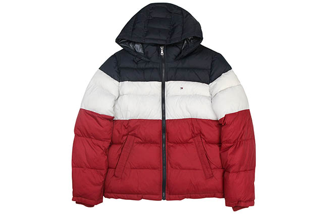 TOMMY HILFIGER INSULATED PUFFER JACKET(156AN122:MUF)トミーヒルフィガー/パフジャケット/マフ