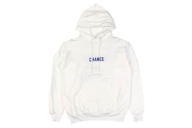 CHANCE THE RAPPER CHANCE 3 HOODIE (WHITE)チャンスザラッパー/プルオーバーフーディー/ホワイト