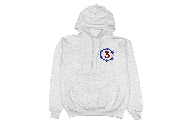 CHANCE THE RAPPER BE ENCOURAGED TOUR HOODIE (GREY)チャンスザラッパー/プルオーバーフーディー/グレイ