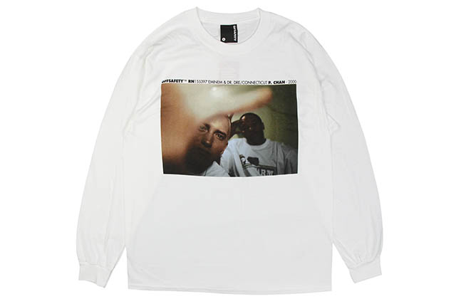 OFF SAFETY FORGOT ABOUT DRE L/S T-SHIRT (WHITE)オフセーフティー/ロングスリーブティーシャツ/ホワイト