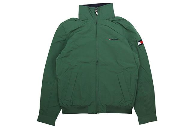 TOMMY HILFIGER YACHT JKT (GREEN) トミーヒルフィガー yacht jacket green