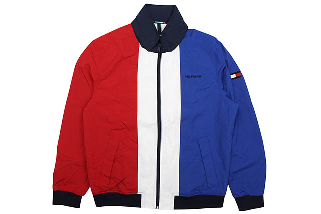 TOMMY HILFIGER YACHT JKT(78C6173)(439:TRICOLORE)トミー ヒルフィガー/ヨットジャケット/トリコロール