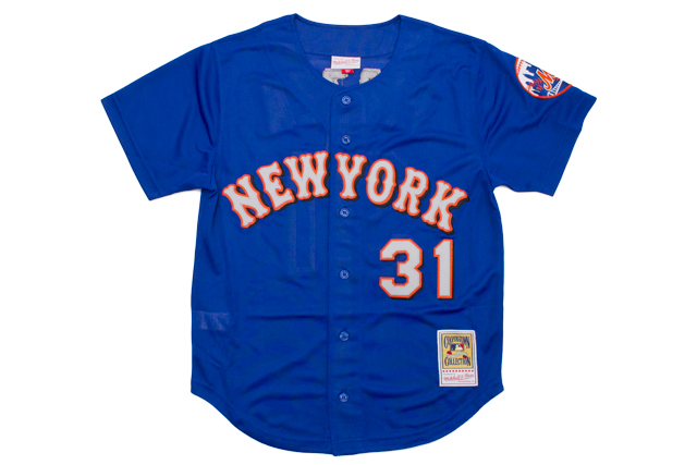 MITCHELL&NESS AUTHENTIC BP BF JERSEY (NEW YORK METS/1999:MIKE PIAZZA)ミッチェル&ネス/オーセンティックジャージー/ニューヨークメッツ/マイク・ピアッツァ