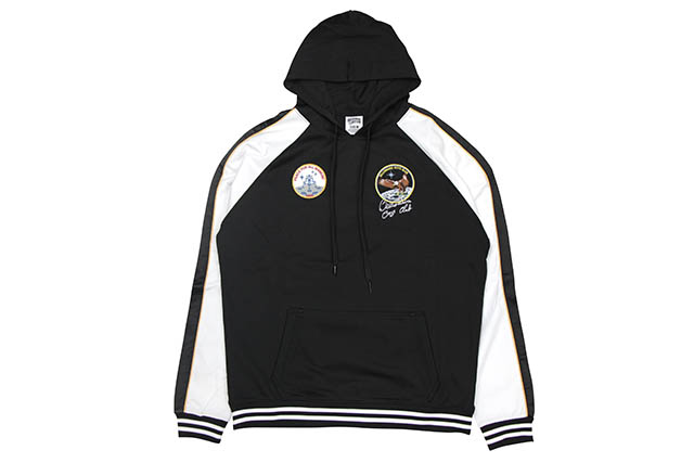 BILLIONAIRE BOYS CLUB BB SOUVENIR HOODIE (891-6304:BLACK)ビリオネアボーイズクラブ/プルオーバーフーディー/ブラック