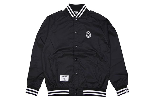 BILLIONAIRE BOYS CLUB NEON SIGN BLOUSON (BBCJP193X002:BLACK)ビリオネアボーイズクラブ/ライトウェイトジャケット/ブラック