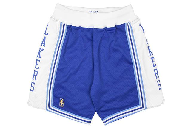 MITCHELL&NESS AUTHENTIC SHORTS (LOS ANGELES LAKERS/1996-1997/BLUE×WHITE)ミッチェル&ネス/オーセンティックショーツ/ロサンゼルスレイカーズ/ブルー×ホワイト