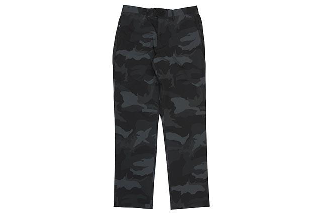 POLO RALPH LAUREN STRAIGHT FIT TRAVELER PANTS (710760483001:SURPLUS CAMO BLACK)ポロラルフローレン/ポリエステルパンツ/サープラスカモブラック