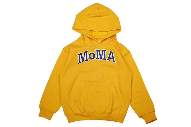 MoMA x CHAMPION KID'S HOODIE (YELLOW)モマ/チャンピオン/キッズフーディー/イエロー