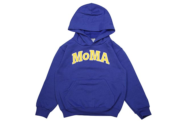 MoMA x CHAMPION REVERSE WEAVE P/O HOODY (BLUE)モマ/チャンピオン/キッズフーディー/ブルー
