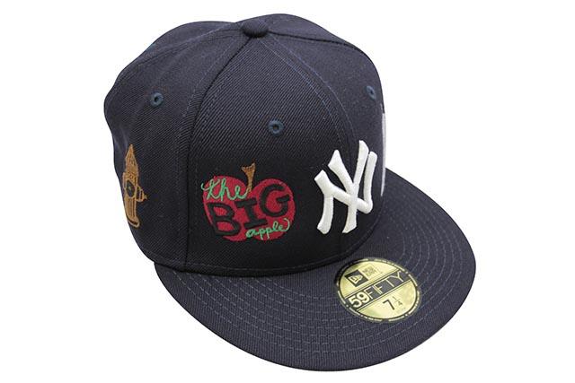 NEW ERA 59FIFTY NEW YORK YANKEES 1996 WORLD SERIES CUSTOM FITTED CAPニューエラ/フィッテイッドニュ-エラキャップ/ネイビー