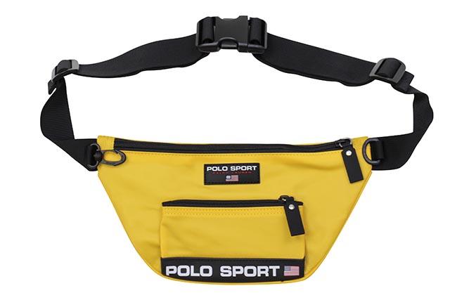 POLO SPORT NYLON WAIST PACK (405749441007:YELLOW)ポロラルフローレン/ポロスポーツ/ウエストパック/イエロー