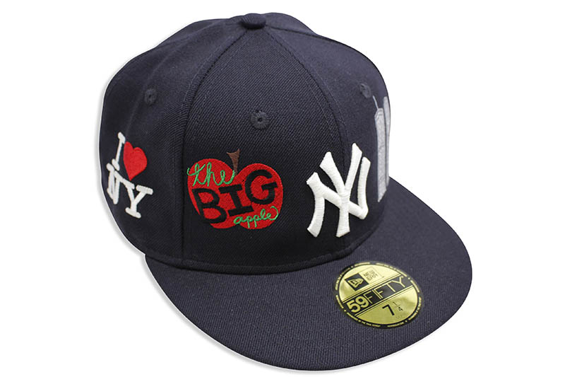 THE FITTED GALLERY NEW ERA 59FIFTY NEW YORK YANKEES 1998 WORLD SERIES CUSTOM FITTED CAPニューエラ/フィッテッドニュ-エラキャップ/ネイビー