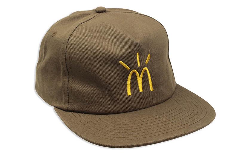 Travis Scott x McDonald's デポー CACTUS ※アウトレット品 ARCHES トラヴィススコット HAT アジャスターキャップ ブラウン BROWN