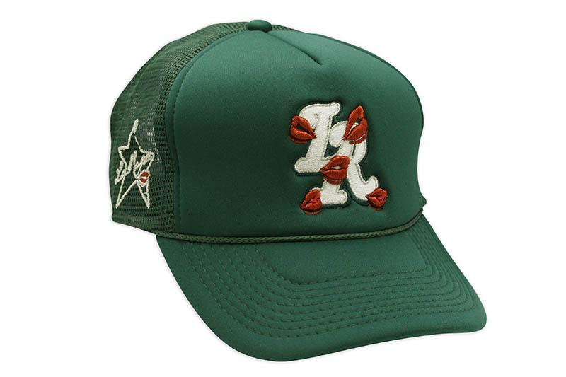 LA ROPA LR TRUCKER HAT 開店記念セール 全国どこでも送料無料 フォレストグリーン ラロパ メッシュキャップ FOREST GREEN