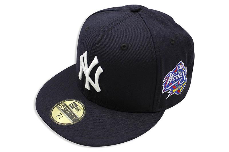 NEW ERA YORK YANKEES 59FIFTY FITTED CAP 1999 SIDE WORLD ネイビー 限定モデル SERIES 新作 大人気 NAVY ニューエラ PATCH フィッテッドニュ-エラキャップ