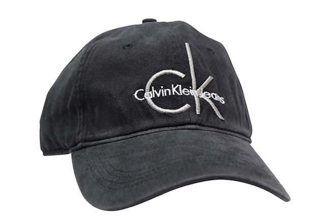 楽天市場 CALVIN KLEIN JEANS WASHED COTTON DAD CAP (BLACK×GREY ... 7feb3f77375