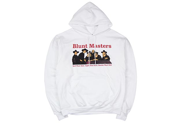 COMMUNITY 54 BLUNT MASTERS HOODY(WHITE)コミュニティ54/プルオーバーフーディー/ホワイト