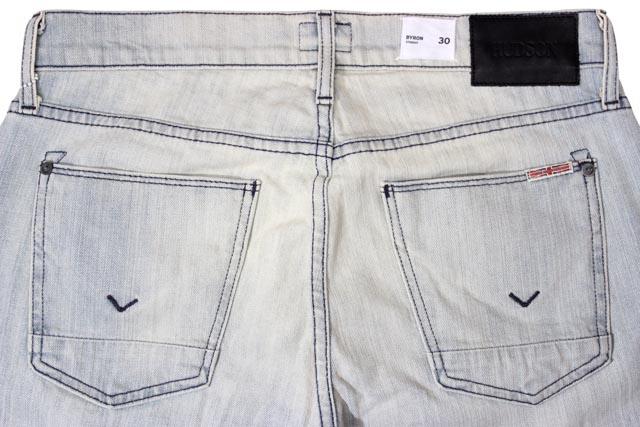 Hudson Jeans DENIM PANTS (M255DSH/Byron Straight: Lights Indigo)ハドソン ジーンズ/デニム ジーンズ