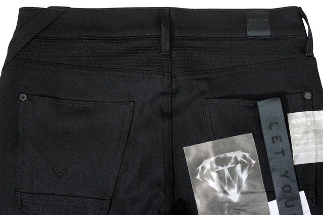 Hudson Jeans DENIM PANTS (M406DSB/Blinder Biker Skinny: Raw Black)ハドソン ジーンズ/デニム ジーンズ