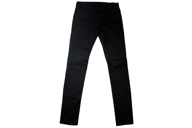 Hudson Jeans DENIM PANTS(M406DSB/Blinder Biker Skinny:Raw Black)哈德森牛仔裤/粗斜纹布牛仔裤