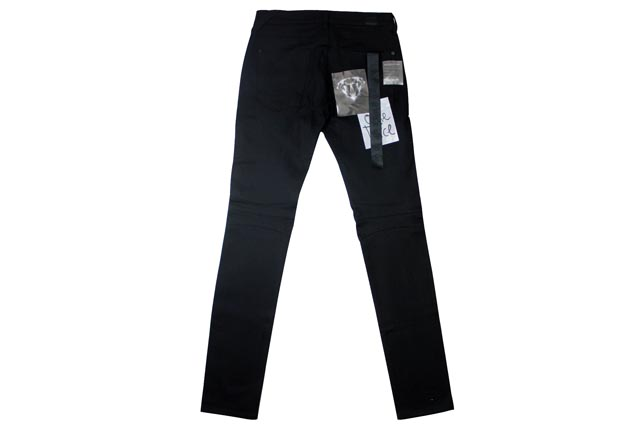 Hudson Jeans DENIM PANTS (M406DSB/Blinder Biker Skinny: Raw Black) Hudson jeans / denim jeans