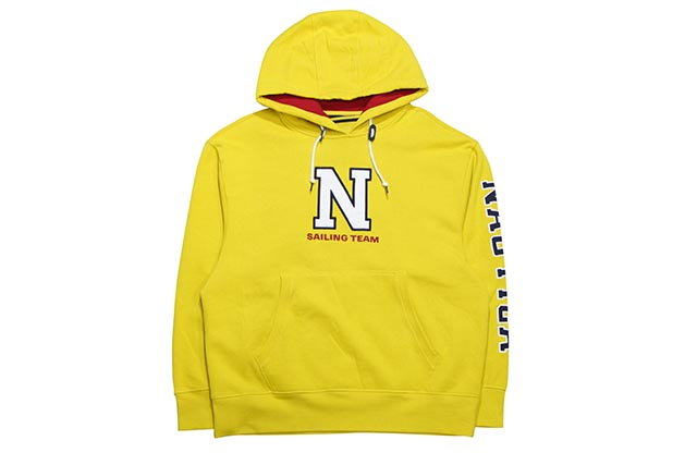 THE LIL YACHTY COLLECTION BY NAUTICA PULLOVER HOODY(YELLOW)ノーチカ/リル ヤッティ/プルオーバーフーディー/イエロー