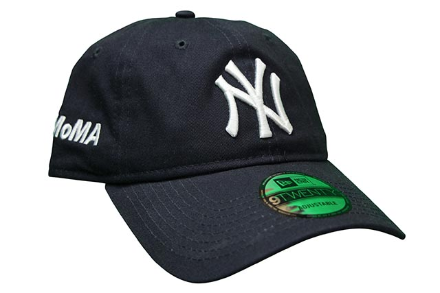 楽天市場 NEW ERA×MOMA 9TWENTY CAP(NEW YORK YANKEES NAVY)ニューエラ ... 693da59b14e