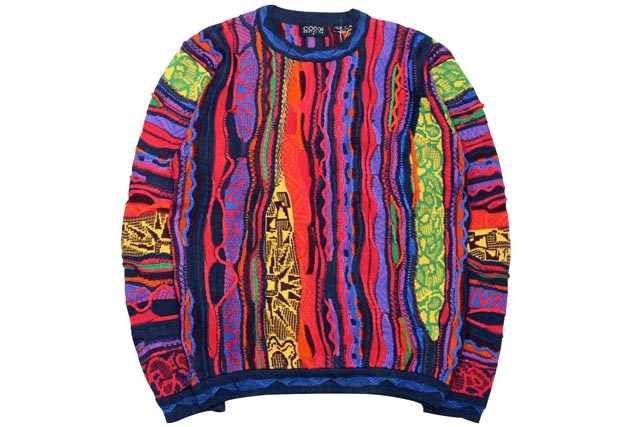 COOGI TRIBAL CREW SWEATER (C65102: BRIGHT)クージー/クルーネックセーター