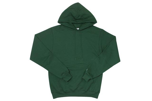 ed18ad6c2fdb Champion USA Eco Pullover Hoodie (Dark Green) champion pullover Parker    Green