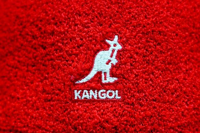 KANGOL HAT (Bermuda Casual/0397 BC / SC 613: RED×WHIE) KANGOL pill Hat /  Red / White
