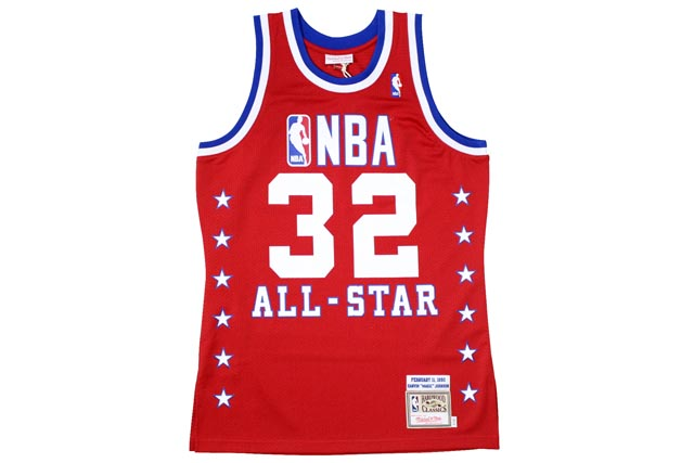 MITCHELL&NESS AUTHENTIC THROWBACK JERSEY (1990 NBA All-Star/Magic Johnson : Red)ミッチェル&ネス/スローバックジャージー/赤