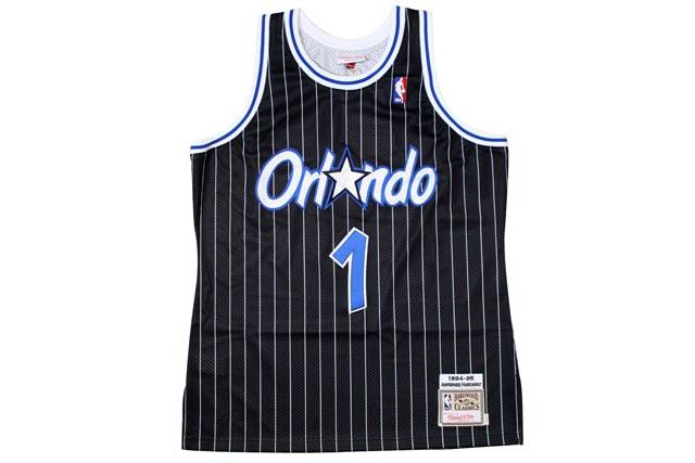 MITCHELL NESS AUTHENTIC THROWBACK JERSEY (1994-95 Orlando Magic Penny  Hardaway  BLACK) Jersey Mitchell   Ness   Slovak   black 1690861a1