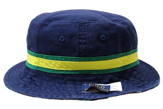 4d82fdeb9c8 Polo Ralph Lauren   reversible hat and Navy POLO RALPH LAUREN Reversible  Patch Bucket Hat Newport Navy Bright Green (710542683001)